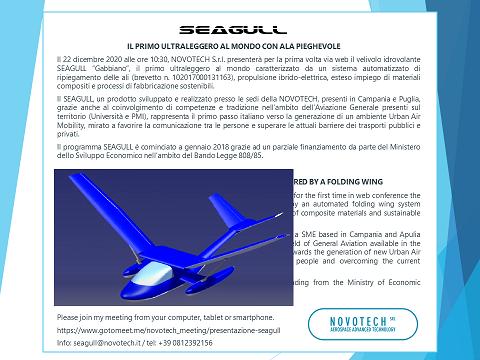 Presentazione SEAGULL